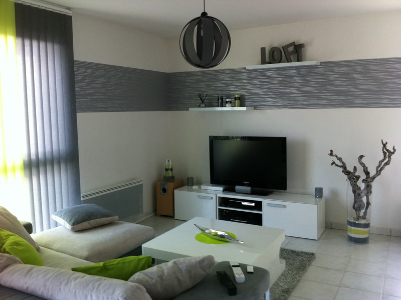 Conseil deco salon contemporain au sud d amiens home staging - Decoration d interieur salon ...