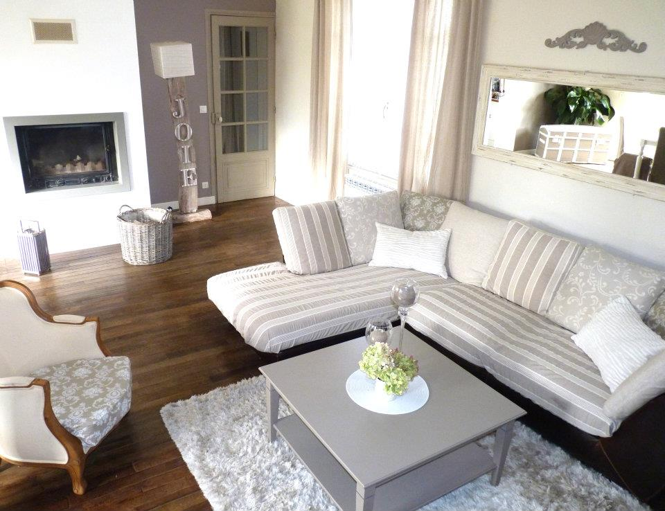 Conseil en d coration home staging for Deco salon campagne chic