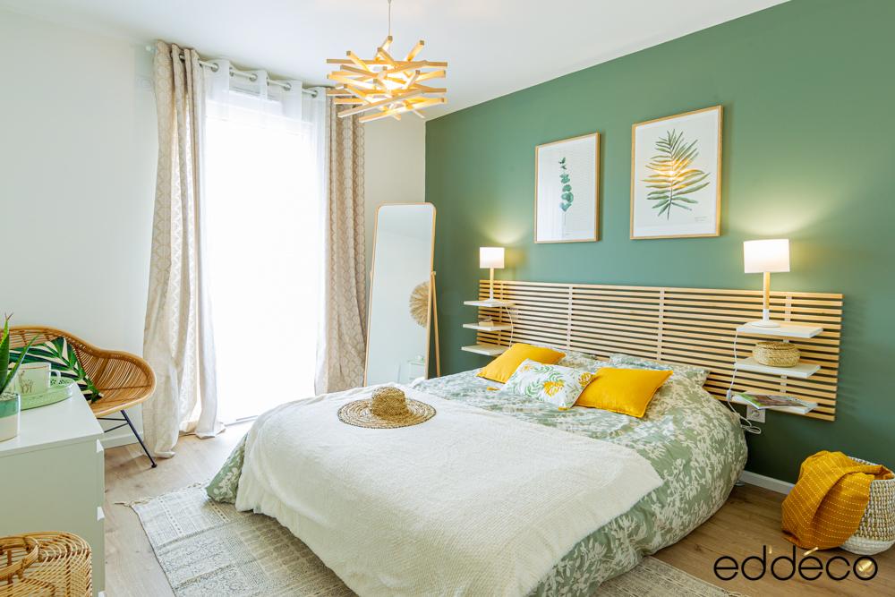 Chambre nature simplicité et fraîcheur – Ed-deco